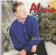 Alwin-Dat Komt Door Jou cd single