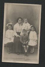 Mark Cross. 40 Market Place, Dewsbury Photographer family Postcard   zd41