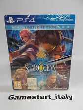 STAR OCEAN INTEGRITY AND FAITHLESSNESS LIMITED EDITION - SONY PS4 - NUOVO NEW