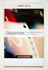 Audio CDs for Sequences, Intermediate French Through FIlm, 2e Michele Bissiere