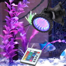 New listing 36 Led Rgb Underwater Submersible Spot Light Aquarium Garden Fountain Pond Lamp