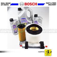 BOSCH SERVICE KIT AUDI Q5 3.0 TDi FILTERS OIL AIR FUEL CABIN 211,239 BHP OIL