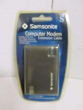 Samsonite Computer Modem Extension Cable 8' RJ-11 Plugs