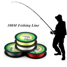 100M PE Dyneema Fishing Line Strong Braided Lines 4 Strands Wire 30LB New