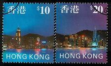 Hong Kong SC# 776 and 777, Used, Hinge Remnant - Lot 021917