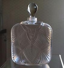 LALIQUE Crystal (France) - Hittite Perfume Bottle - NIB