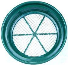 SE Goldwaschpfanne Sieb Classifier Stahlsieb Mesh  2 = 12,7 mm Maschenweite