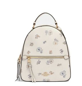 NWT COACH Jordyn Large Backpack Chalk Dandelion Floral Print SEALED PACKAGE