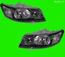 Holden Commodore VY Right Left Side Black Head Lights V6 V8 SS S SV6 02 03 04