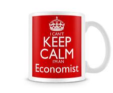 Ckcsname 1027-Non Posso Mantenere la calma Sono un economista-I LAVORI TAZZE Personalizzabile Regalo