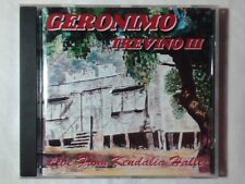 GERONIMO TREVINO III Live from Kendalia halle cd HANK WILLIAMS RAY WYLIE HUBBARD
