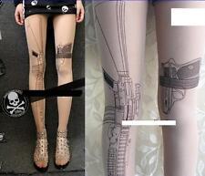 Urban impresión Resident Evil Tomb Raider Gato Culto Mallas Sexy Pistola De Mujer 8 10 12 14