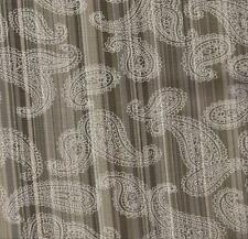 COTTON QUILT FABRIC: CRANSTON GREEN STRIPE PAISLEY By The Yard 0502512