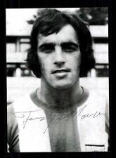 Franz Krauthausen Autogrammkarte Bayern München Spieler 70er Jahre Original Sign