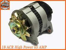 18ACR High Output 65 Amp Alternator, Pulley & Fan Fits FORD ESSEX V6