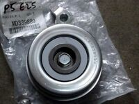 Ancillary belt tensioner bearing pulley genuine Mitsubishi Pajero Junior 1.1 Jr