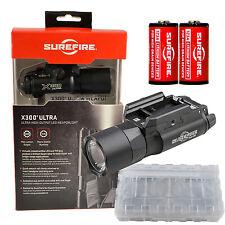 Surefire X300U-B Ultra LED 600 Lumen Weapon Light w/ 2x CR123A Batteries + Case