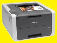 Brother HL-3140CW Printer w/ NEW Toners & NEW Drums! REFURBISHED !!!