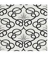 Erismann Dauphin White/Grey/Black/Silver Patterned Damask Wallpaper (9738-10)
