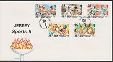 GB - JERSEY 1996 Sports Anniv's Cent Olympic Games Series II SG 746/50 FDC SPORT