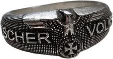 Mk-Art militaria anillo, alemán pueblo tormenta con ek y Adler