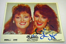The Judds NAOMI's Autograph Color 8x10 Glossy Photo  -Great Condition