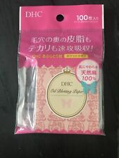 New And Unused DHC Blotting Paper, 100 Sheets