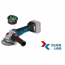 Bosch Akku-Winkelschleifer GWS 18V-10 SC, mit GCY 30-4, L-BOXX ohne Akku ohne La