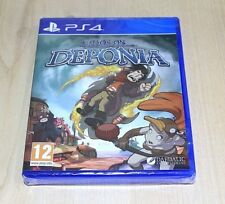 NEW Chaos On Deponia Game PS4 Playstation 4 UK Pal