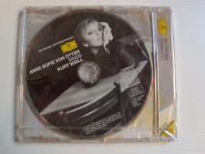 ANNE SOFIE VON OTTER sings KURT WEILL - CD PROMOTION DG 445 698-2  J E GARDINER