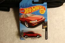 Hot Wheels 1988 Honda CRX. Red. 3/10. New in sealed package.