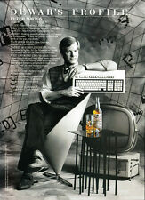 Dewar's Scotch print ad 1989 Profile: Peter Norton