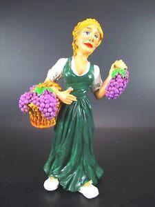 Wine Queen Winzerkönigin Funny Occupation Figurine Profession, 17 CM, New