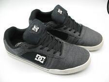 DC Men's Cole Lite Sneakers Grey Leather Chris Cole Skate Shoes Size 11 EUR 44.5