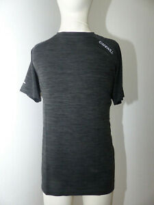 Neues Herren Icaniwill Seamless T Shirt Top Gr. L Crossfit Sport Gym Schwarz