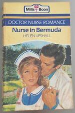 Nurse In Bermuda ~ HELEN UPSHALL ~ Mills & Boon Vintage