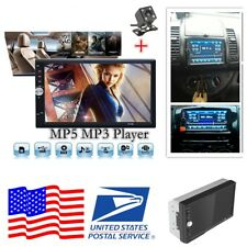 7 inch 2DIN Car Audio Stereo FM + Rear View Camera Video MP5 MP3 Player From USA