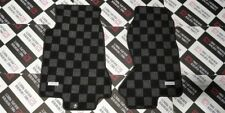 P2M Checkered Flag Race Extended Carpet Floor Mats Set Mazda RX-7 RX7 FD FD3S
