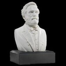 Robert E. Lee Bust Sculpture Civil War Historical Figure Statue
