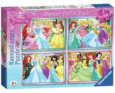 Ravensburger Disney Princess Puzzle Pack - 4 x 100 Piece.