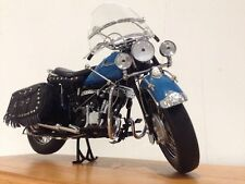 1948 jefe indio Roadrunner Clásico Motocicleta + base De Madera Vitrina MIB