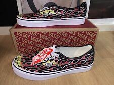 Vans Authentic Mash Up Flames Black Sneaker US 9,5 42,5 UK 8,5 new Schuhe