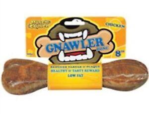 """3 X Munch & Crunch Gnawler Bone Chicken 8"""""""