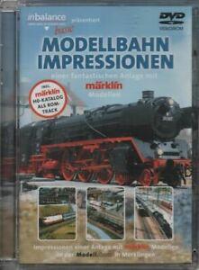 DVD: Modellbahn Impressionen - Impressionen einer Anlage mit märklin Modellen