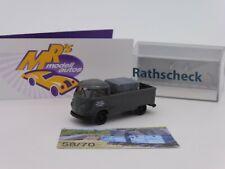 """Brekina Sondermodell # VW T1b Pritsche """" Rathscheck Schiefer 3 """" Limt. 70 Stück"""