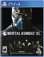 Mortal Kombat XL (Sony PlayStation 4) BRAND NEW