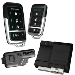 EXCALIBUR ALARMS RS-475-3D Excalibur 900MHz LED 2-Way Keyless Entry & Remote ...
