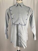 Vintage H Bar C California Ranchwear Long Tail Snap Up Western Shirt Sz 15.5 34