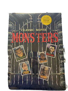 Rare Classic Movie Monsters Stamps (Still Sealed)