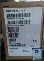 "HP 652564-B21 653955-001 300GB SAS 6G 10K SFF  ENT 2.5"" HPE GEN8 HDD Hard Drive"